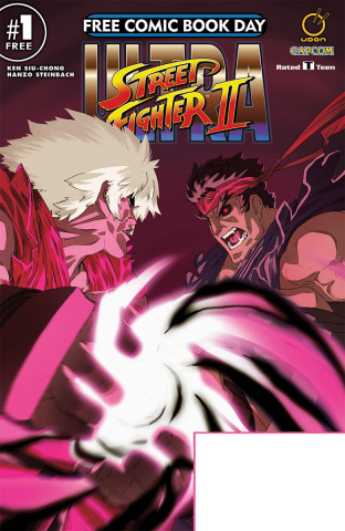 Ultra Street Fighter II #1 (FCBD 2018 Special)