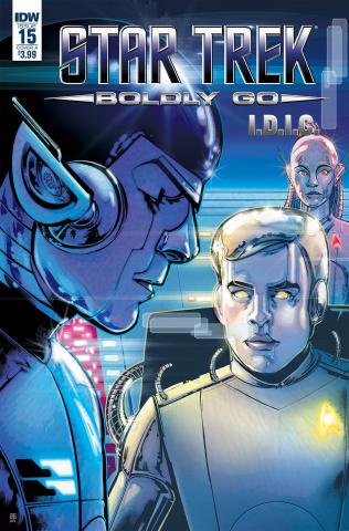 Star Trek: Boldly Go #15 (Shasteen Cover)