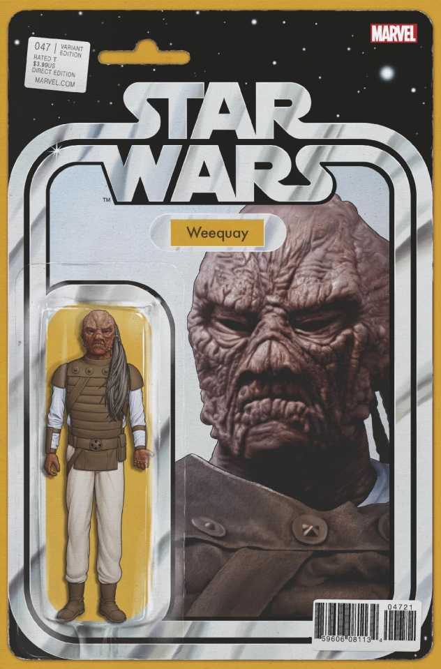 Star Wars #47 (Christopher Action Figure Cover)
