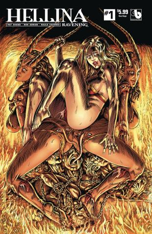 Hellina: Ravening #1 (Sacrilege Cover)