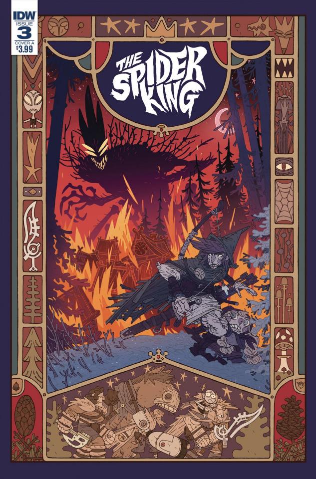 The Spider King #3 (Darmini Cover)