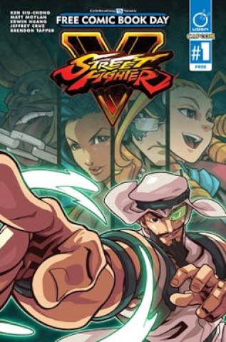 Street Fighter V #1 (FCBD 2016 Edition)