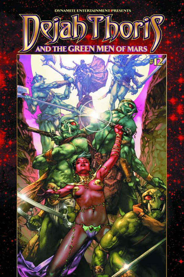 Dejah Thoris & The Green Men of Mars #12