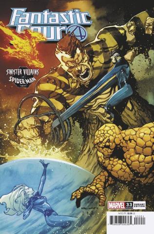 Fantastic Four #33 (Ruan Spider-Man Villains Cover)