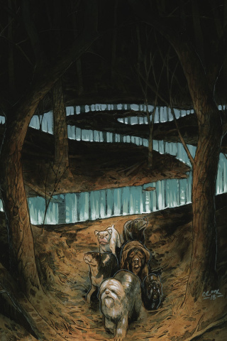 Beasts of Burden: Wise Dogs and Eldritch Men #3 (Cover B)