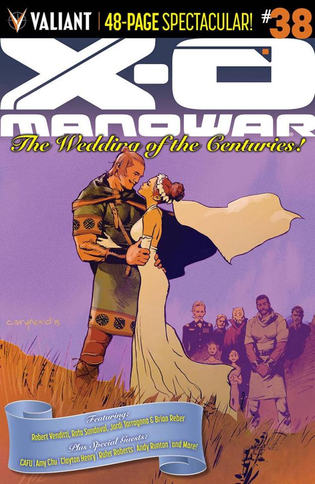 X-O Manowar #38 (Nord Cover)