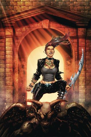 Hellchild: Blood Money #2 (Salazar Cover)
