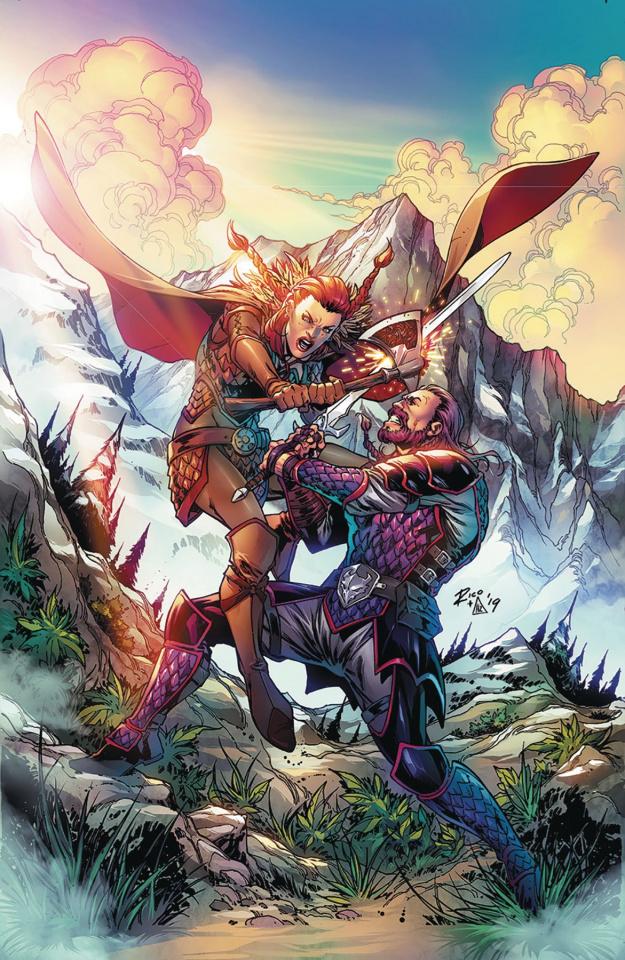 Dragonsblood #2 (Richardson Cover)