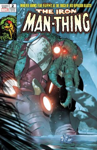 Iron Man #2 (De Iulus Iron Man Thing Horror Cover)