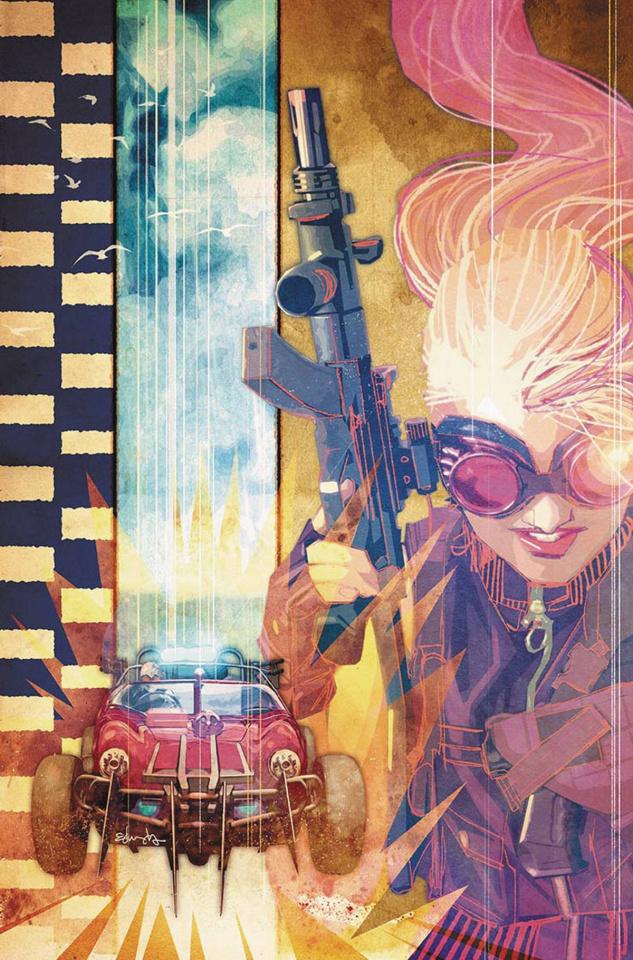 Wacky Raceland #1 (Penelope Pitstop Cover)