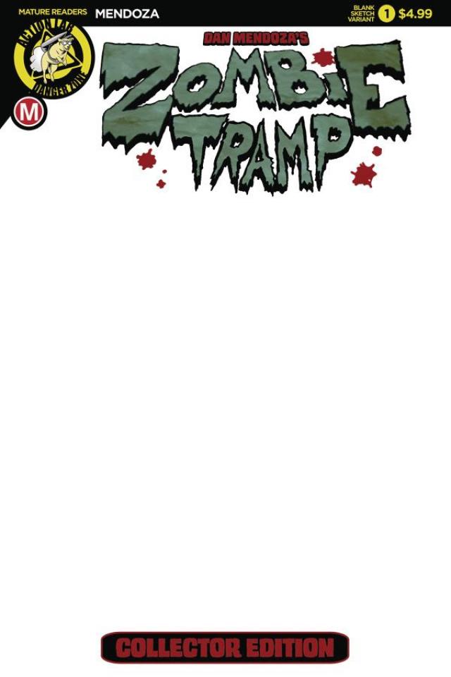 Zombie Tramp: Origins #1 (Blank Cover)