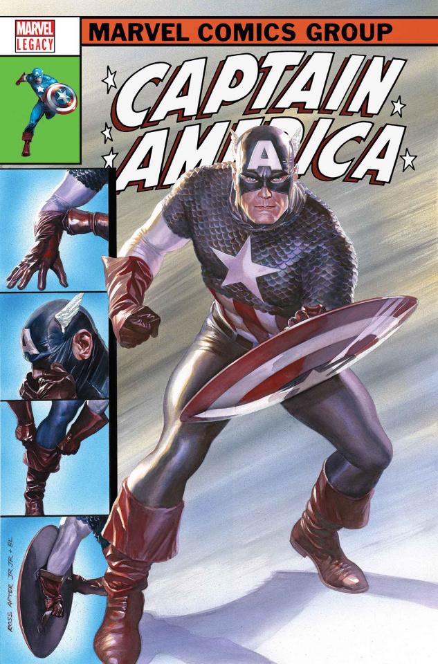 Captain America #695 (Alex Ross Cover)