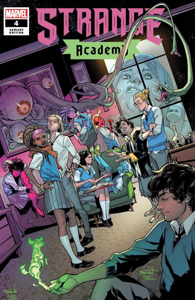 Strange Academy #4 (Schiti Cover)