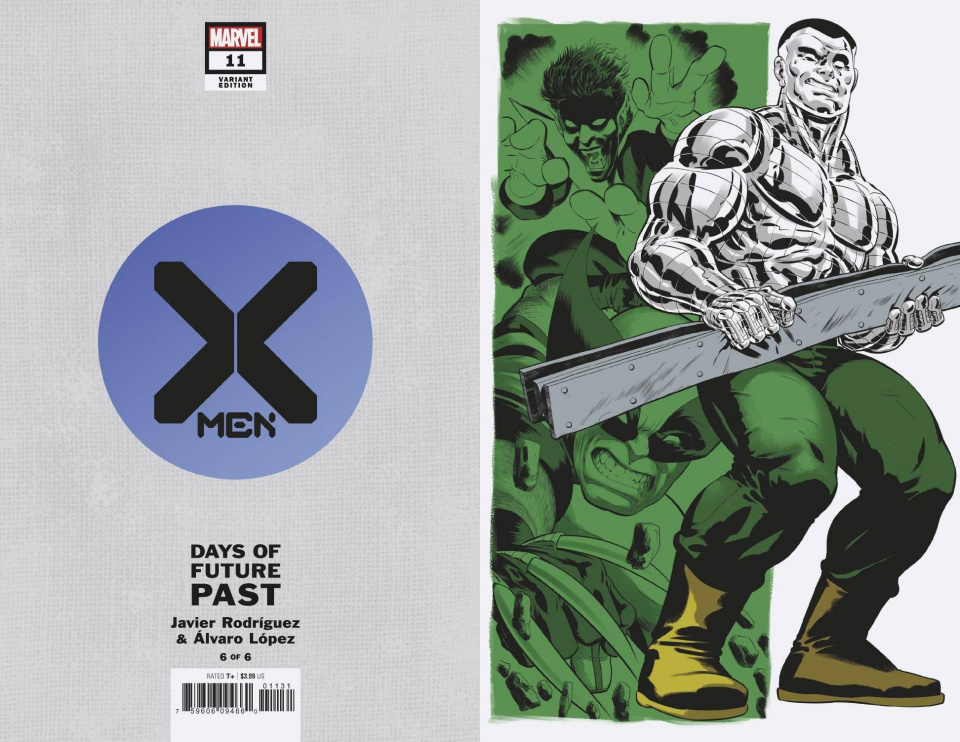 X-Men #11 (Rodriguez Days of Future Past Cover)