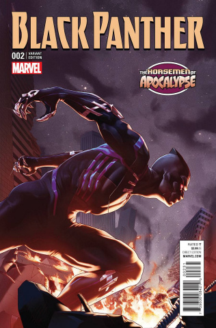 Black Panther #2 (Jamal Campbell AoA Cover)