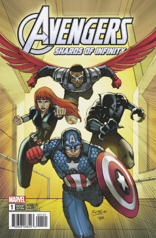 Avengers: The Shards of Infinity #1 (Lim Cover)