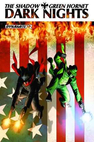 The Shadow / Green Hornet: Dark Nights #2 (Cassaday Cover)