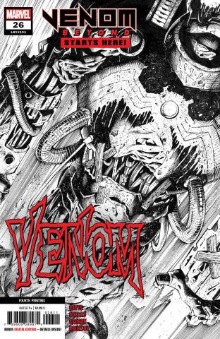 Venom #26 (Coello 4th Printing)