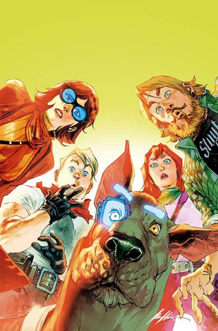 Scooby: Apocalypse #9 (Variant Cover)