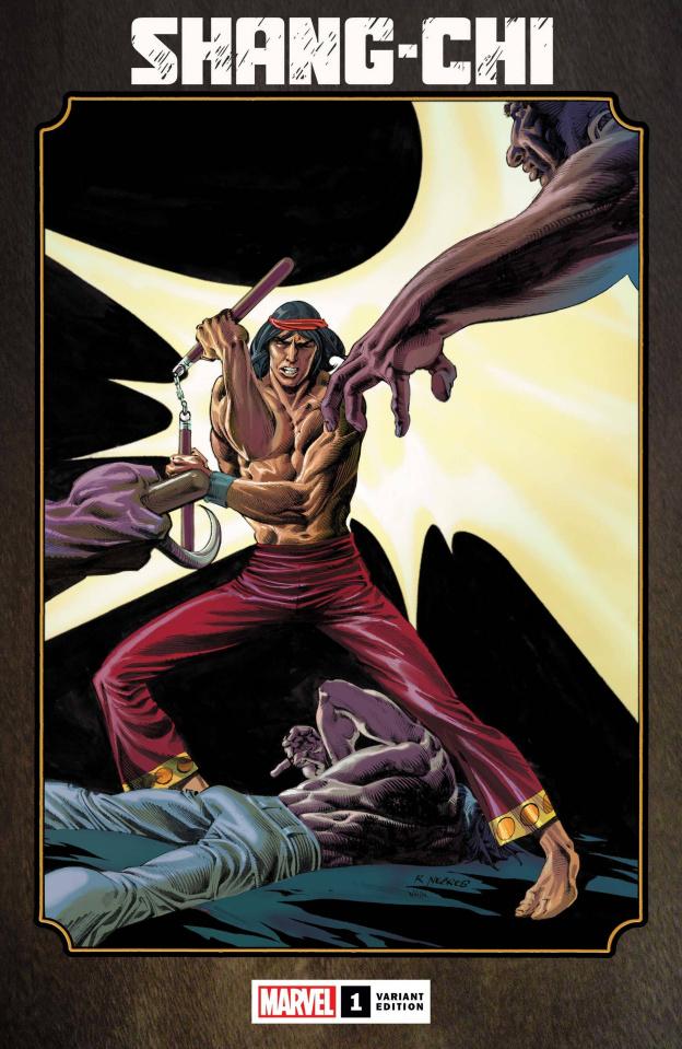Shang-Chi #1 (Hidden Gem Cover)