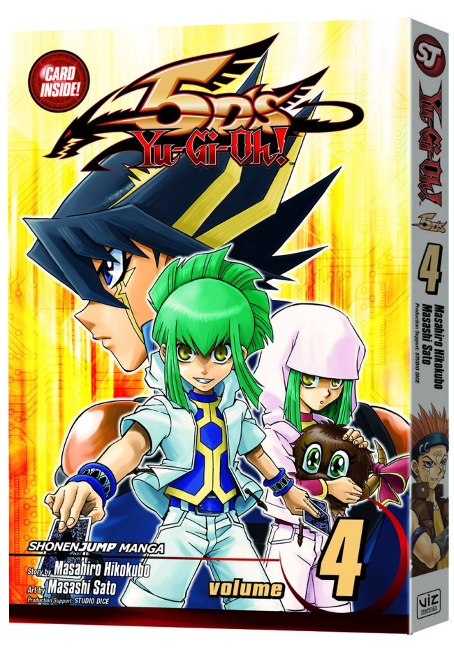 Yu-Gi-Oh! 5Ds Vol. 4