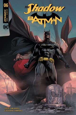 The Shadow / Batman #6 (Segovia Cover)