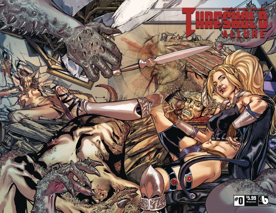 Threshold: Allure #0 (Wrap Cover)