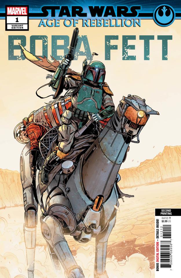 Star Wars: Age of Rebellion - Boba Fett #1 (2nd Printing)
