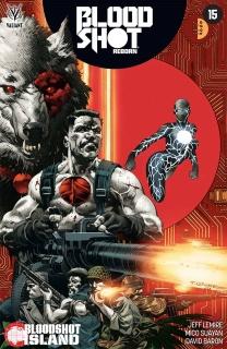 Bloodshot: Reborn #15 (Giorello Cover)