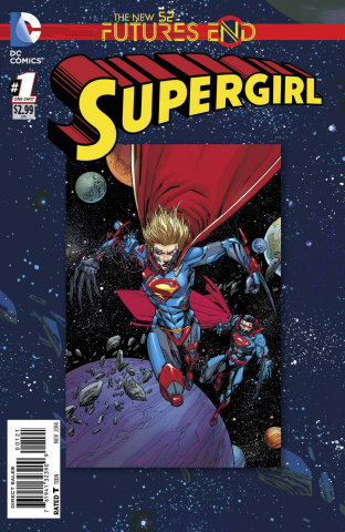 Supergirl: Future's End #1 (Standard Cover)