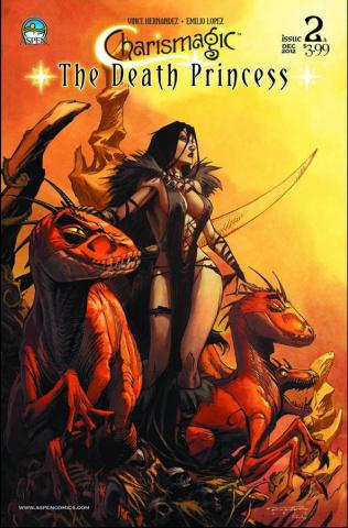 Charismagic: The Death Princess #2 (Randolph Cover)