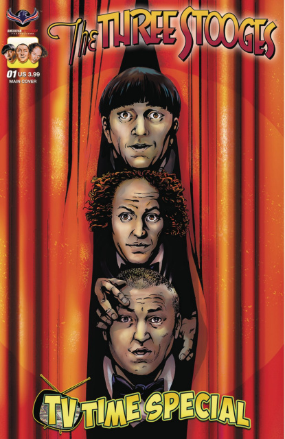 The Three Stooges: TV Time Special (Larocque Cover)