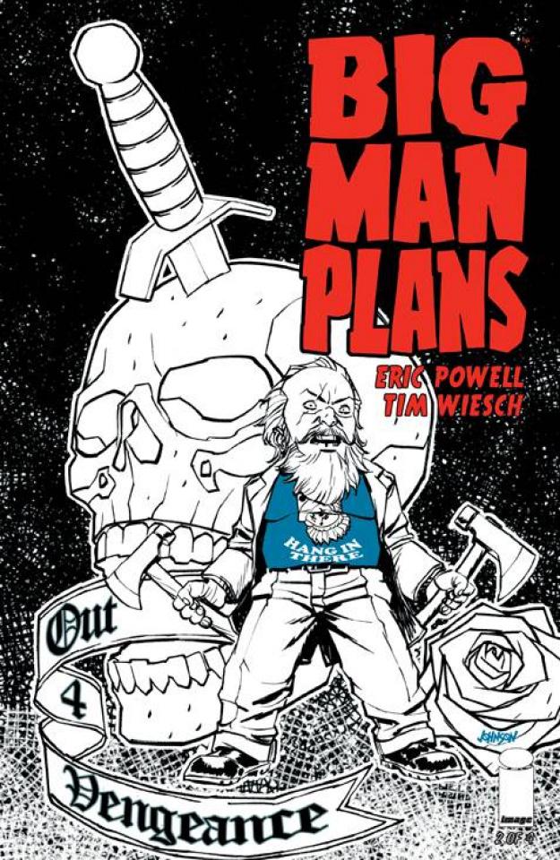 Big Man Plans #2 (30 Copy Johnson Cover)