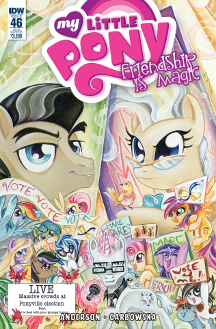 My Little Pony: Friendship Is Magic #46 (Subscription Cover)