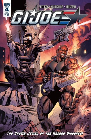 G.I. Joe #4 (Subscription Cover)