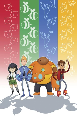 Bravest Warriors #30 (Subscription Wolfe Cover)