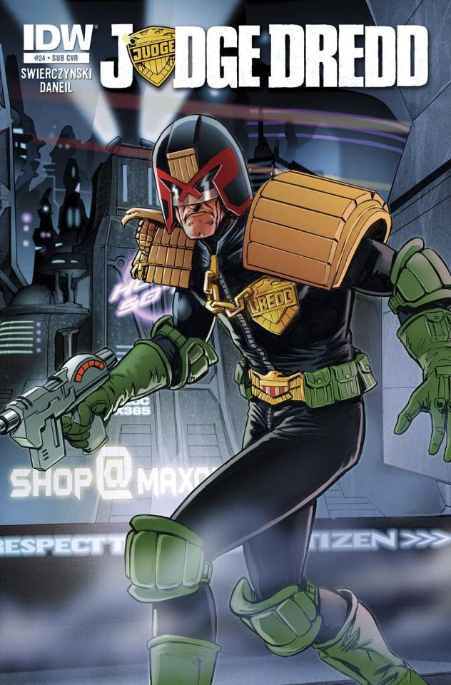 Judge Dredd #24 (Subscription Cover)
