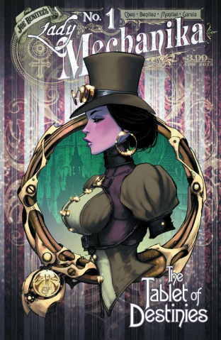 Lady Mechanika: The Tablet of Destinies #1 (10 Copy Benitez Cover)