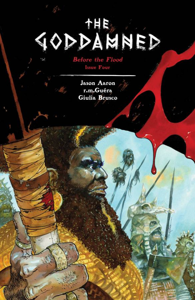 The Goddamned #4 (Guera Cover)