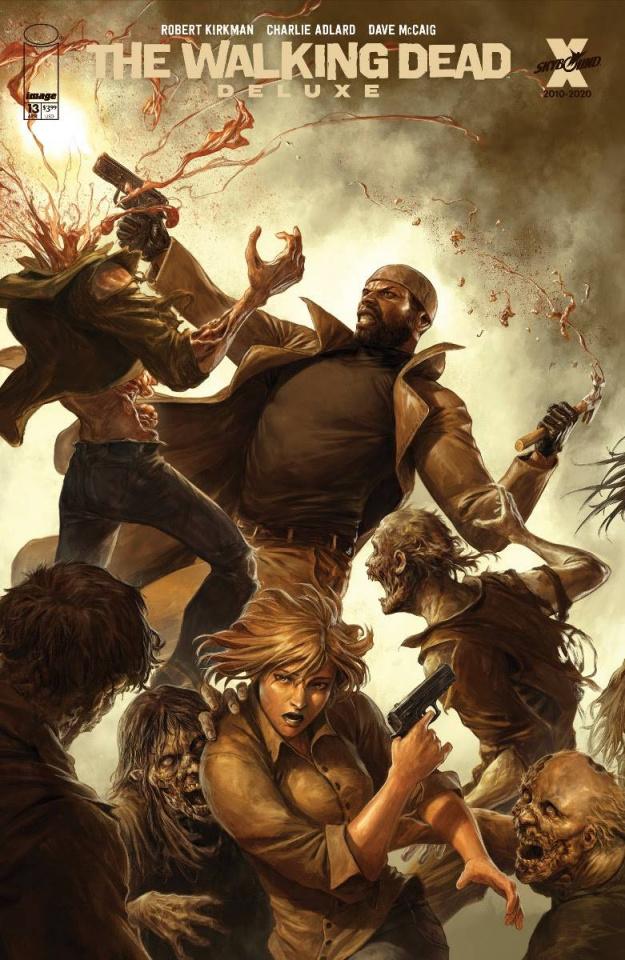 The Walking Dead Deluxe #13 (Rapoza Cover)