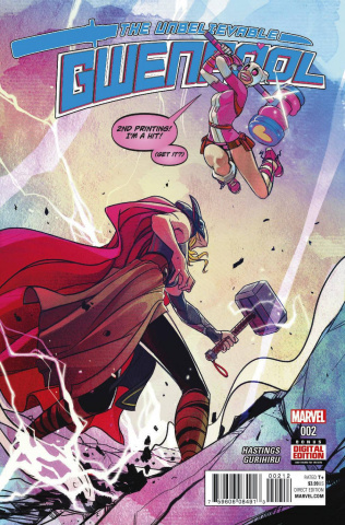 Gwenpool #2 (Lee 2nd Printing)