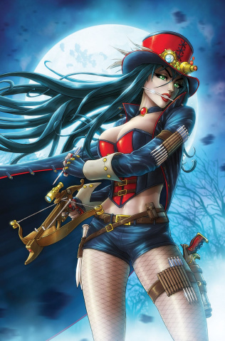 Grimm Fairy Tales: Van Helsing Cover Gallery #1 (Cardy Cover)