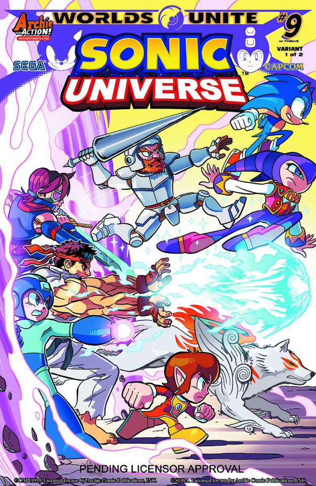 Sonic Universe #78 (Jamal Peppers Cover)
