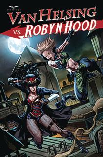 Van Helsing vs. Robyn Hood #3 (White Cover)