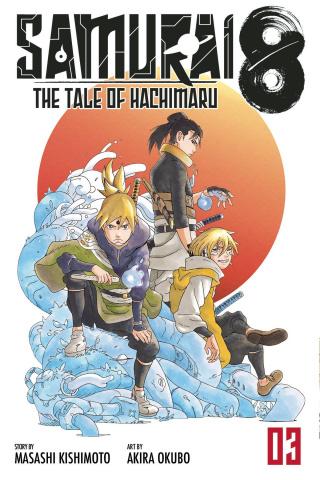 Samurai 8: The Tale of Hachimaru Vol. 3