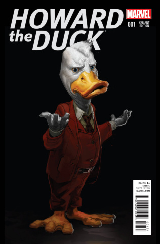 Howard the Duck #1 (Movie Cover)