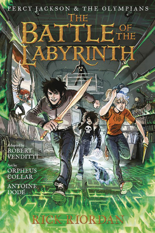 Percy Jackson & The Olympians Vol. 4: The Battle of the Labyrinth