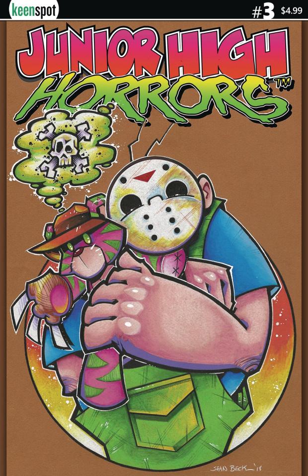 Junior High Horrors #3 (JV Loves Frederick Cover)