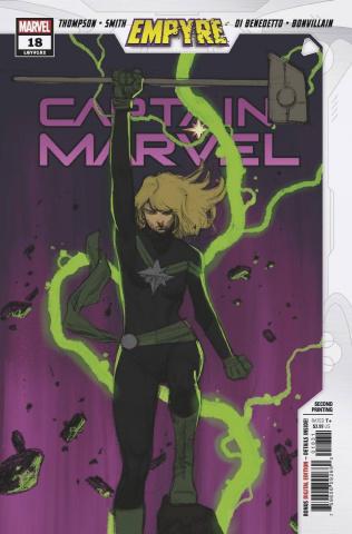 Captain Marvel #18 (Molina Sketch 2nd Printing)