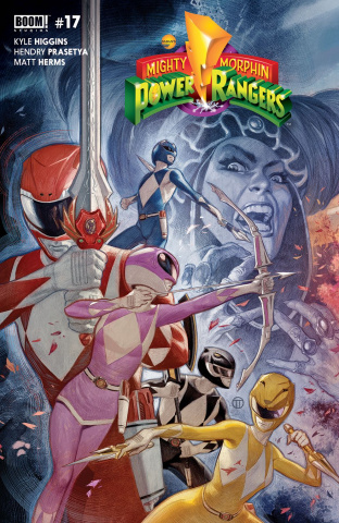 Mighty Morphin' Power Rangers #17 (Tedesco Cover)